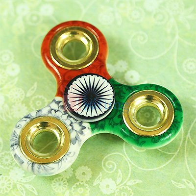 Indian Flag Colour Spinner