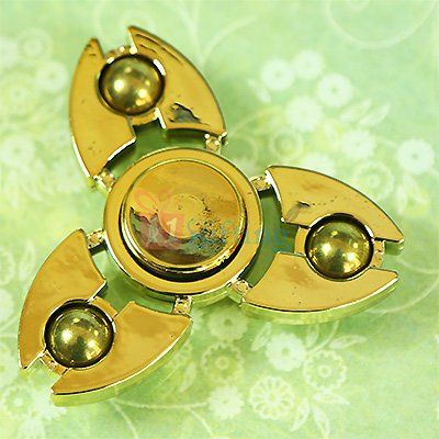 Superb Metalic Shield Ball Spinner