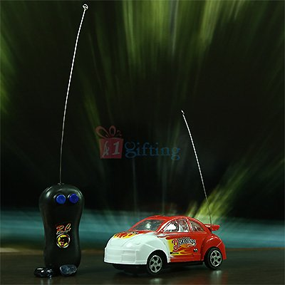 RC Fire Toy Car with Remote Control for Kids