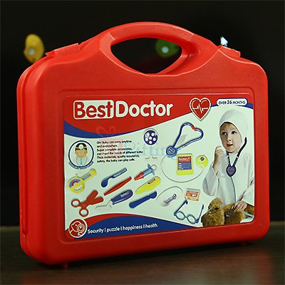 Best Doctor Kit Kids Toy Suitcase Mode