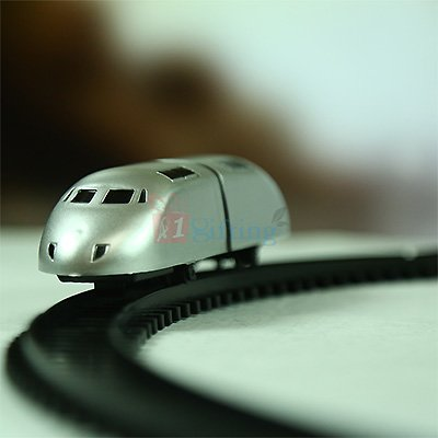 Bullet Train Toys for Kids High Speed Train with Track
