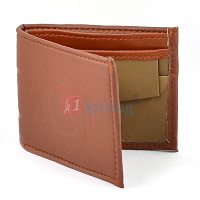 Gucci Printed Genuine Leather Wallet for Men