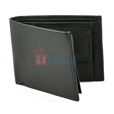Formal Wallet for Men with Address Card Window