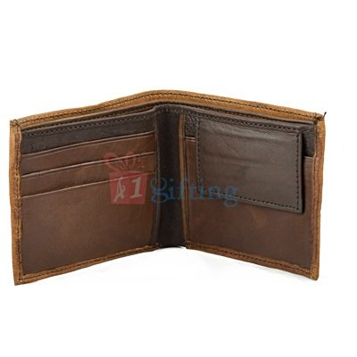Ruff-Tuff Looking Genuine Leather Multi Pocket Money Wallet