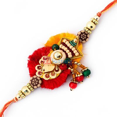 Send Pearl Rakhi to USA Online