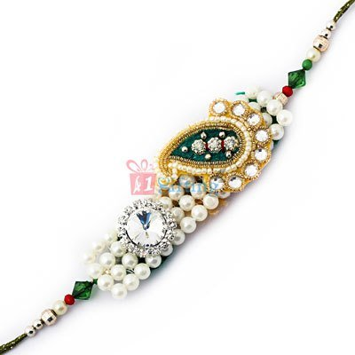 Pearl Rakhi to India