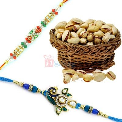 Buy Rakhi with Dryfruits Online