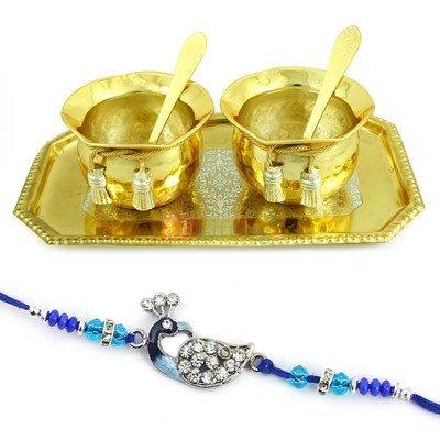 Brassware Rakhi Gift Hamper Online