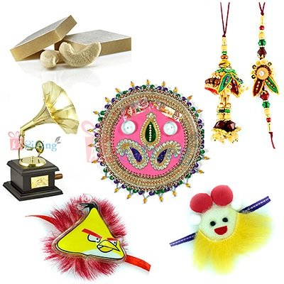 Rakhi with Gift Items Online
