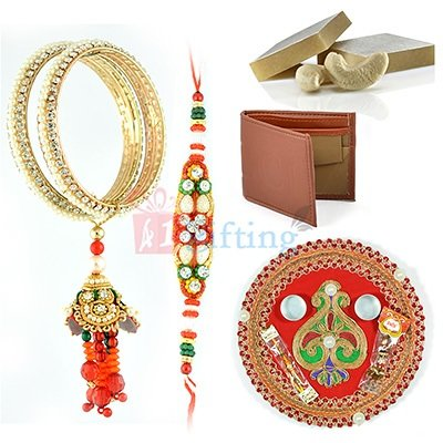 Rakhi with Gift Items to USA