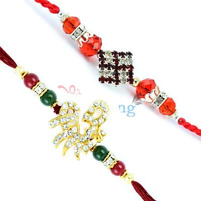 Rakhi Set of 2 to India