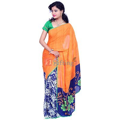 Georgette Crepe Awesome Saree