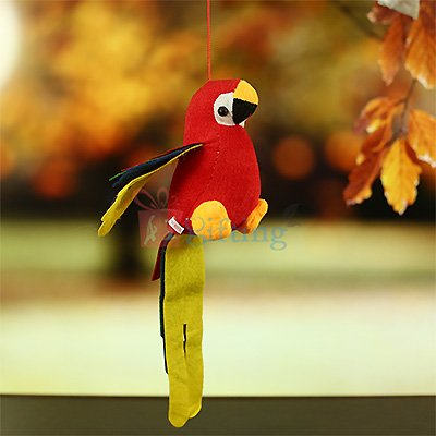 Hanging Perrot Soft Toy