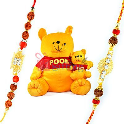 Soft Toys with Rakhi Online