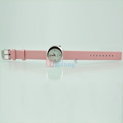 Fast Track Watch for Women Designer Dial with Leather Strap