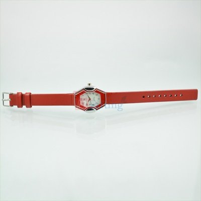 Designer Fast Track Watch for Women with Leather Strap